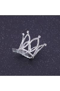 Lovely Mini Crystal Wedding Bridal Tiara Crown