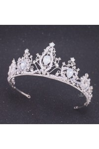 Royal Crystal Diamond Wedding Bridal Prom Tiara Crown