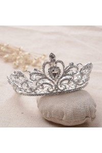 Gorgeous Alloy Crystal Wedding Bridal Prom Tiara Crown