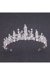 Sparkly Swarovski Crystal Wedding Bridal Tiara Crown