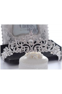 Gorgeous Wedding Bridal Tiara Crown Swarovski Crystal