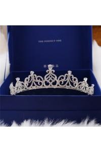 Perfect Zircon Wedding Bridal Tiara Crown
