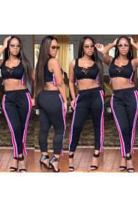 Sexy Two Piece Women Sports Wear Outfit