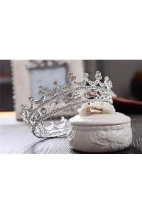 Sparkly Alloy Crystal Wedding Bridal Prom Tiara Crown