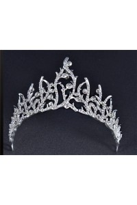 Stunning Ally Crystal Wedding Bridal Sparkly Tiara Crown
