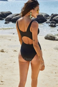 Sexy Swimsuit Women One Piece Swimwear Cut Out Bodysuit Summer Beachwear