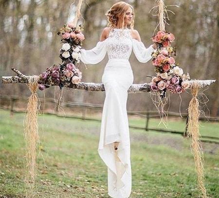 6 POPULAR TREND WEDDING DRESSES FOR 2018